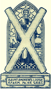 St. Andrew's Lodge, No. 49 logo