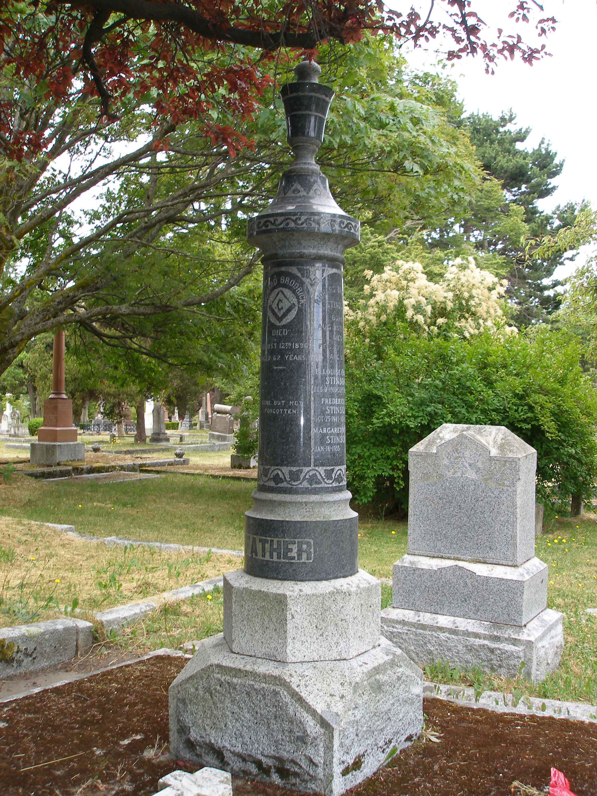Richard Broderick family tomb