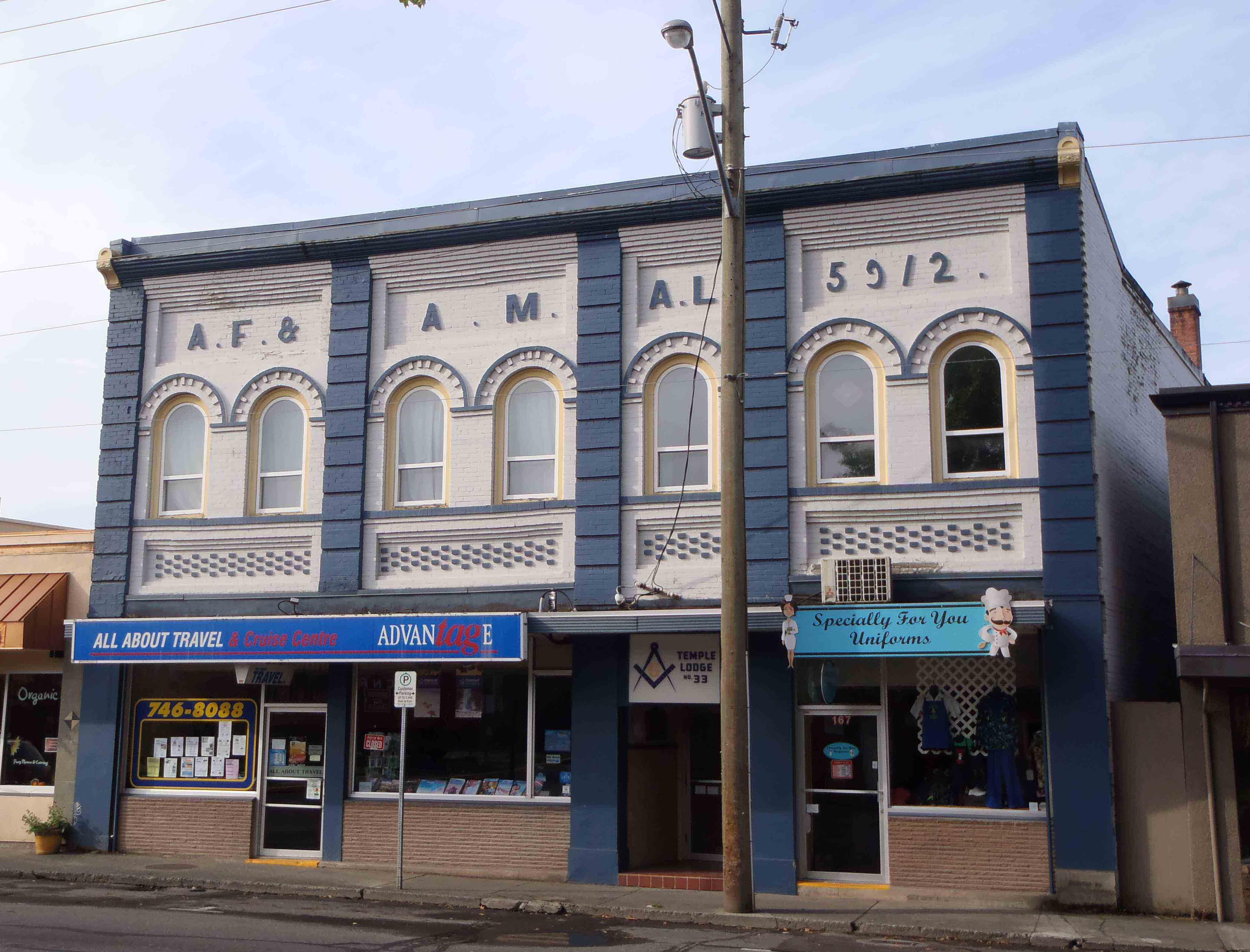 Masonic Temple - Duncan, B.C., Canada