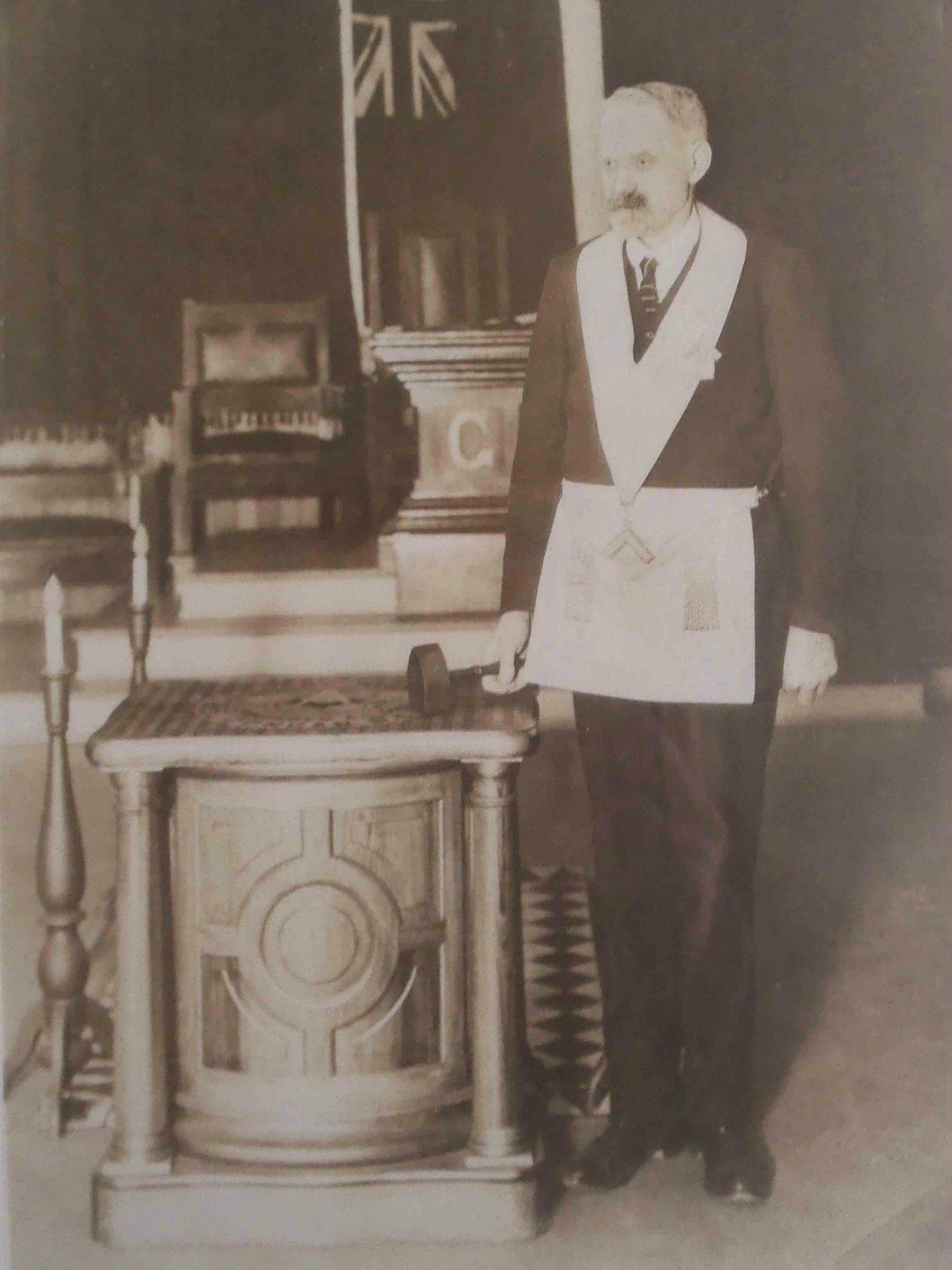Christopher Dobson, circa 1928