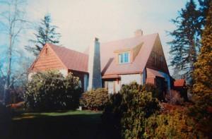 Claude Green house, Grieve Road, North Cowichan, B.C.