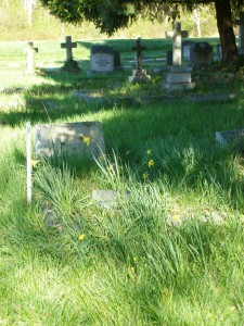Harold Fairfax Prevost grave, St. Peter's Quamichan cemetery, Duncan, B.C.