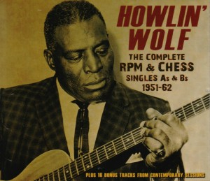 CD cover, Howlin' Wolf - The Complete RPM & Chess Singles As & Bs 1951-62, Chess Records