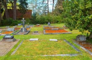 Hugh Vidal grave, St. Peter's Quamichan Anglican cemetery
