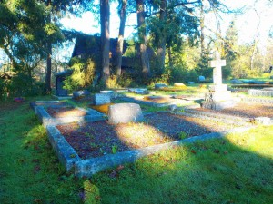James Maitland-Dougall grave, St. Peter's Quamichan cemetery