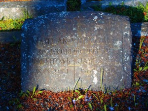 James Maitland-Dougall headstone. St. Peter's Quamichan cemetery