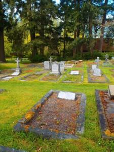 John Dick, grave, St. Peter's Quamichan cemetery
