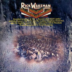 CD cover, Rick Wakeman, Journey To The Centre of the Earth - A&M Records