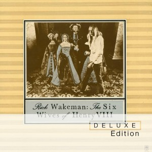 CD cover, Rick Wakeman, Six Wives of Henry VIII - A&M Records