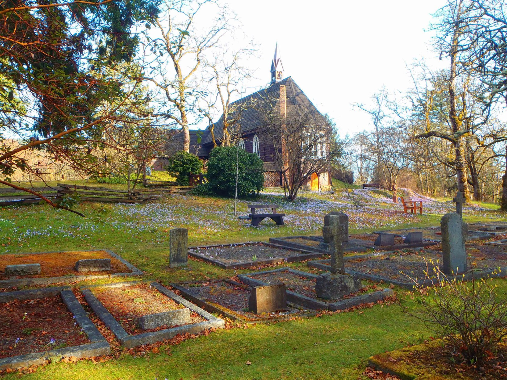 St. Peter's Quamichan Anglican Church and Cemetery