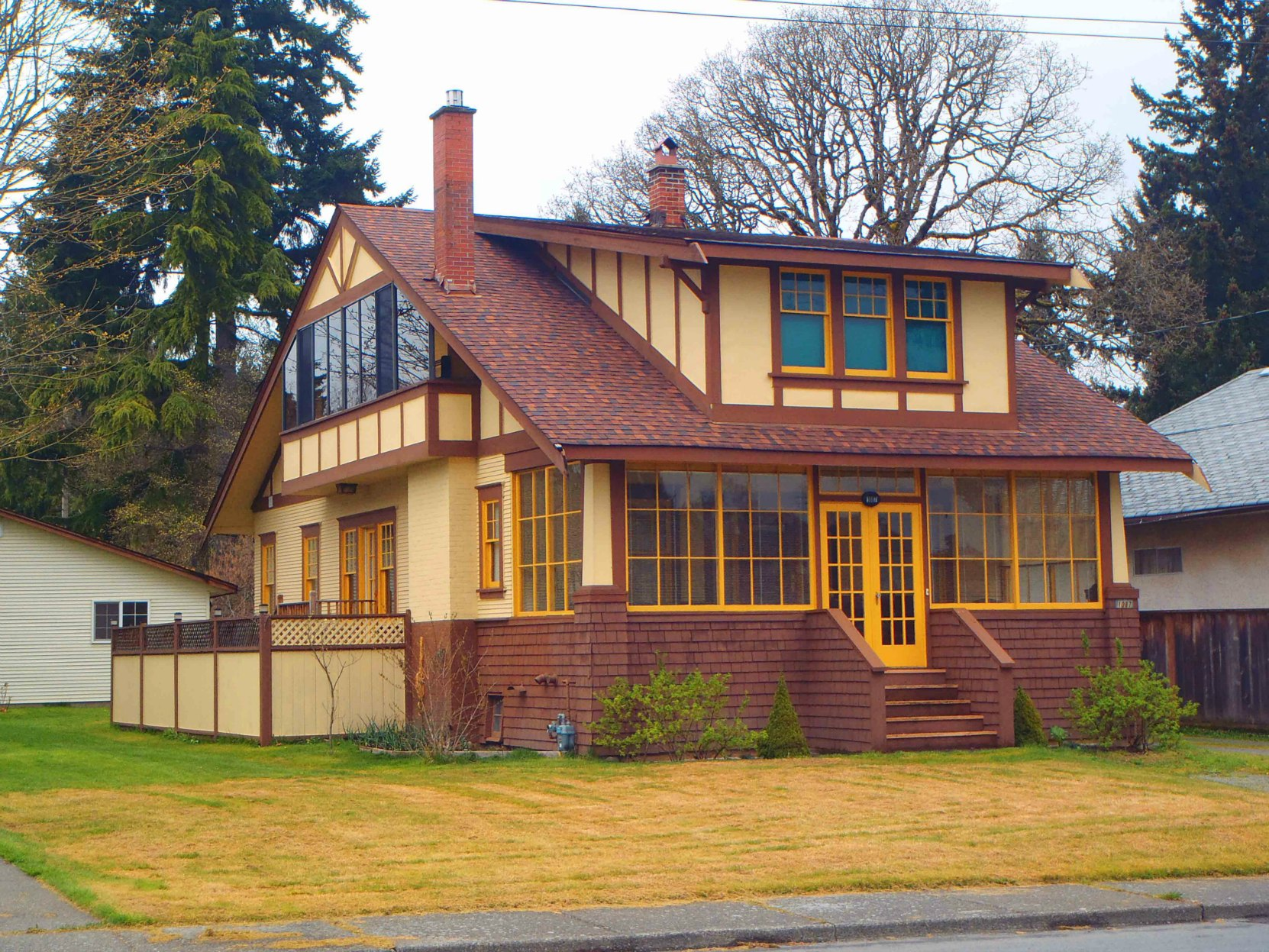 Charles William O'Neill built this house at 1087 Islay Street, Duncan circa 1920 and lived here until his death in 1963.