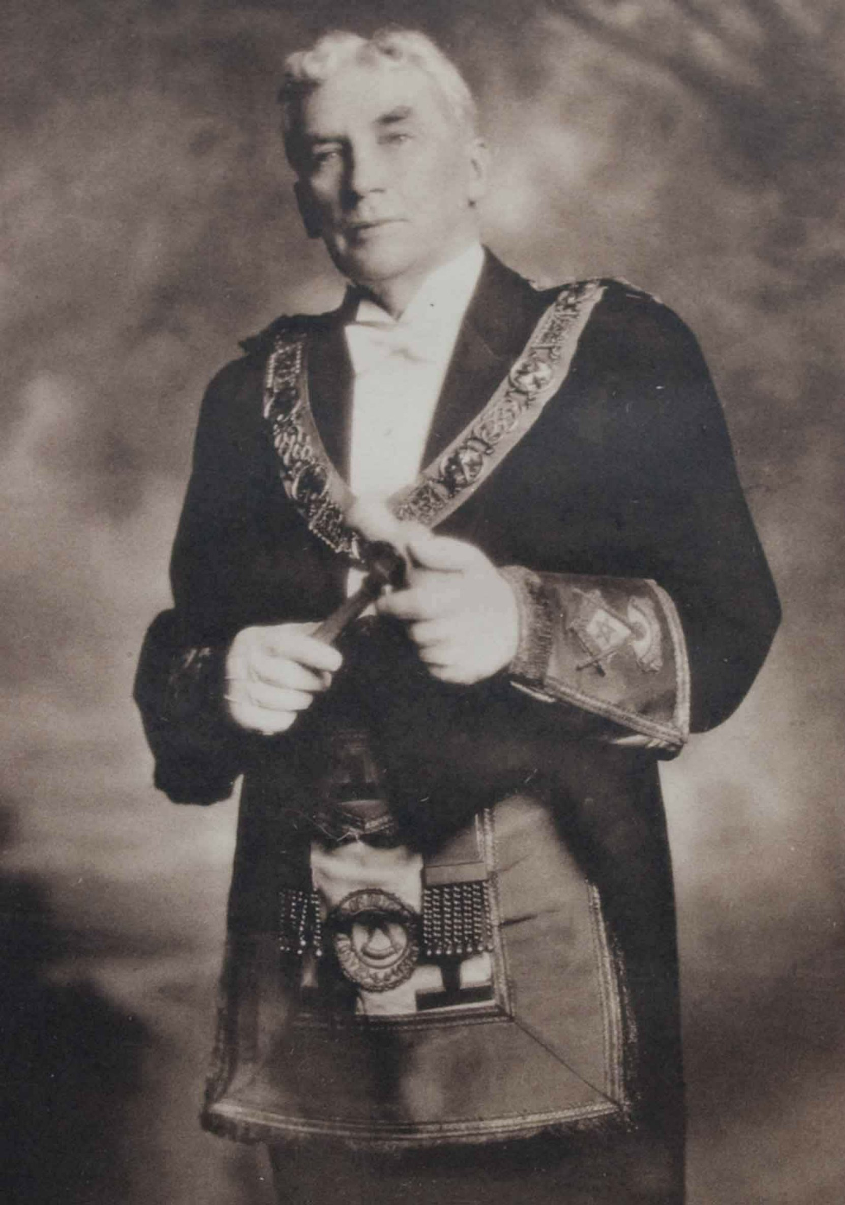 Donald Edward Kerr as Grand Master of B.C. & Yukon