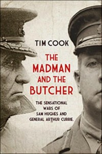 Book Cover - The Madman and the Butcher, by Tim Cook