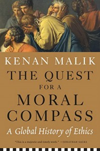 Book Cover - Quest For A Moral Compass, by Kenan Malik