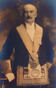 Thomas Pitt as District Deputy Grand Master, circa 1918