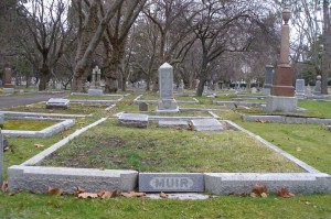 Alexander Maxwell Muir grave, Ross Bay Cemetery, Victoria, B.C.
