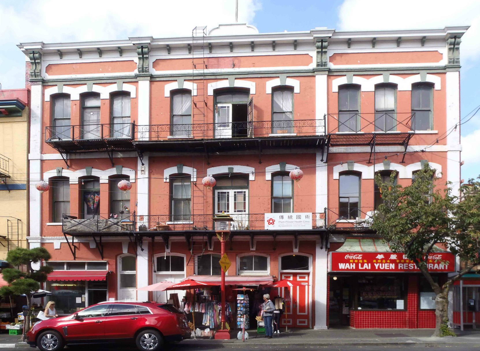 Chinese Consolidated Benevolent Society building, designed by John Teague in 1885