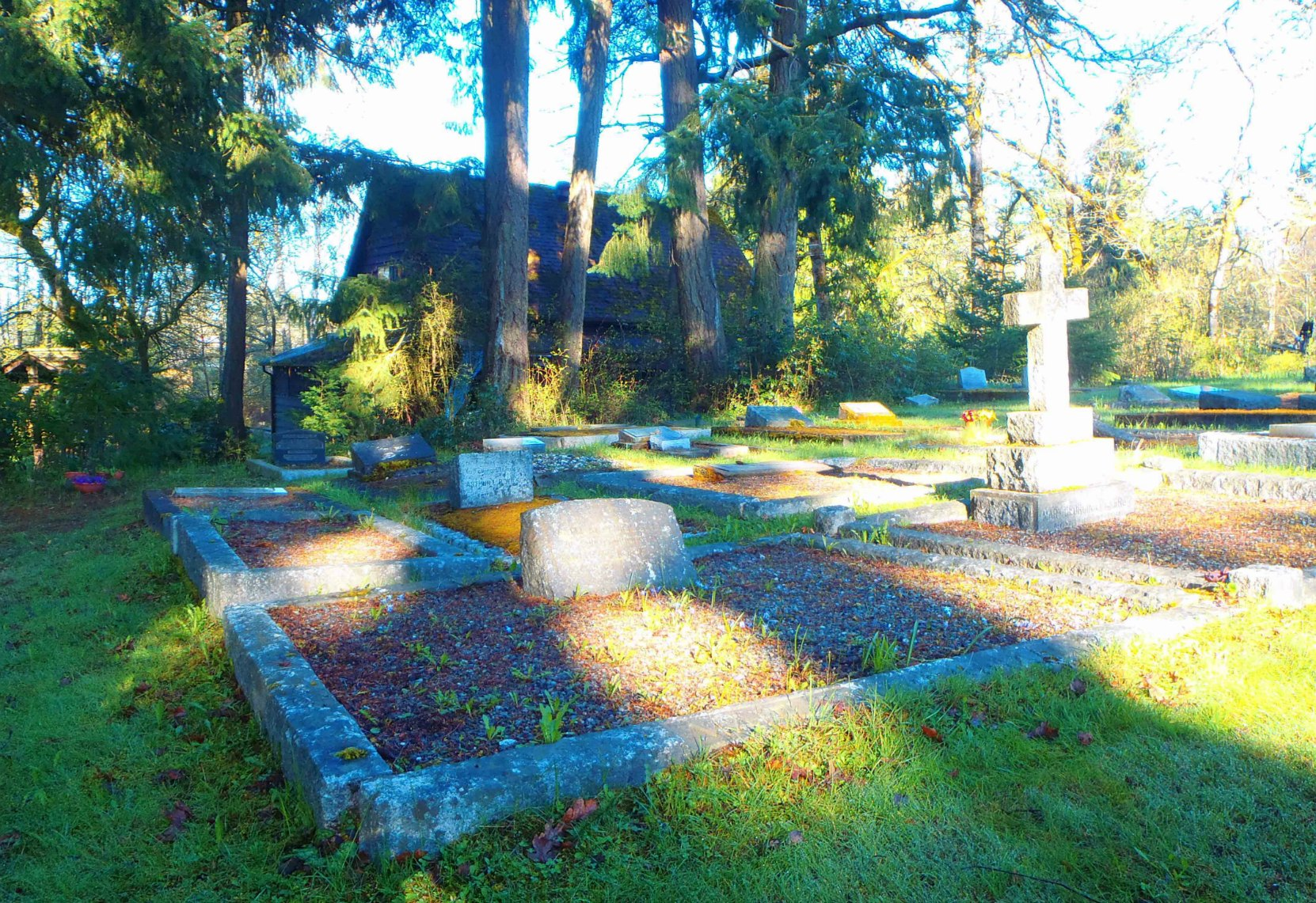 James St. Leger Maitland-Dougall grave, St. Peter's Anglican cemetery, North Cowichan
