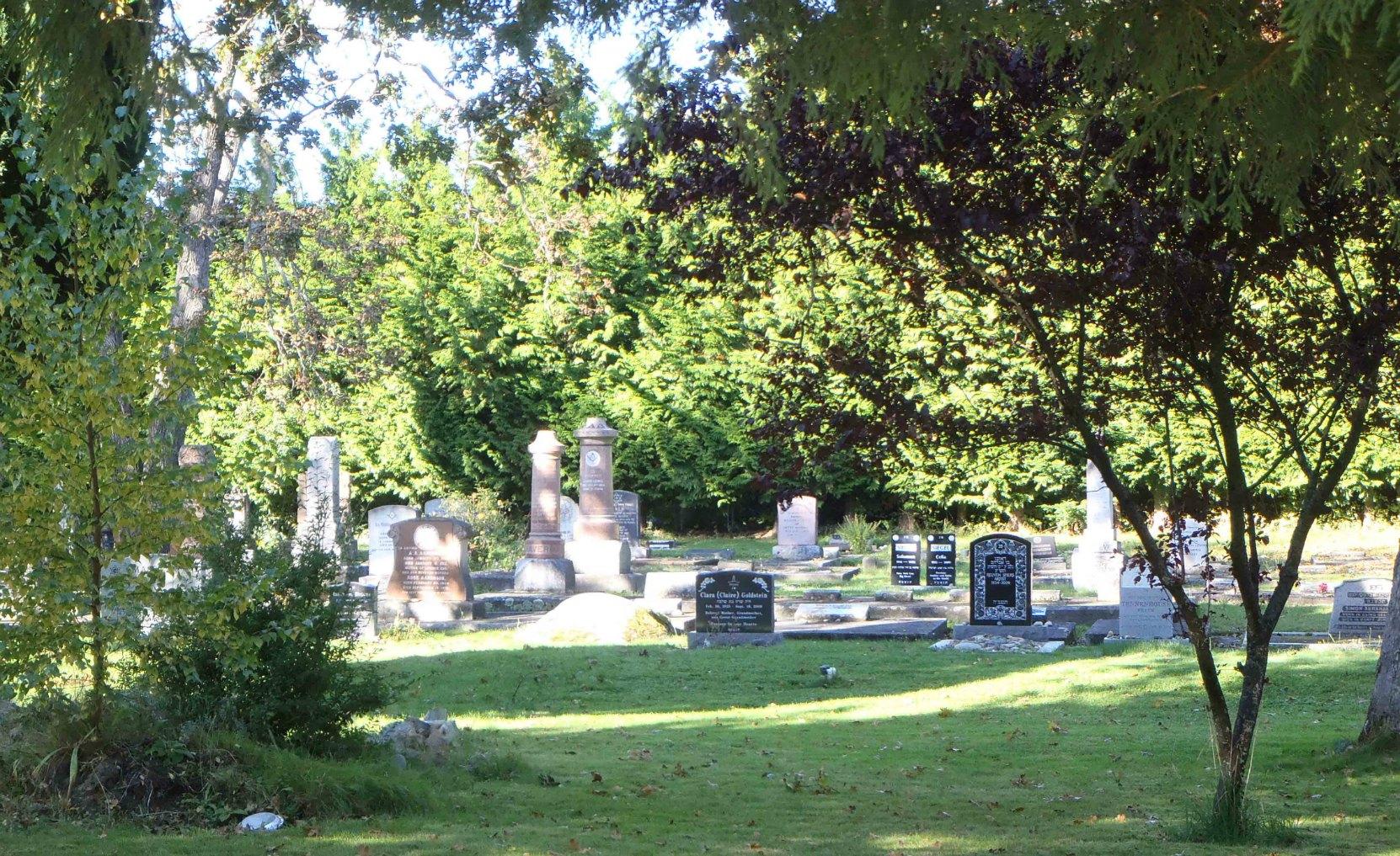 Victoria Jewish Cemetery, Victoria, B.C.
