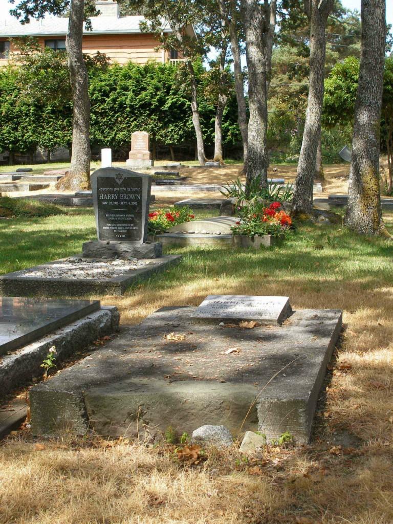 Morris Price grave, Victoria Jewish Cemetery