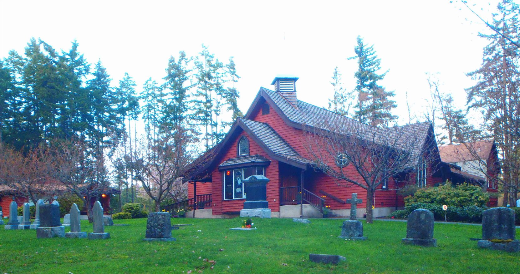 St. John the Baptist Anglican Church, Cobble Hill, B.C.