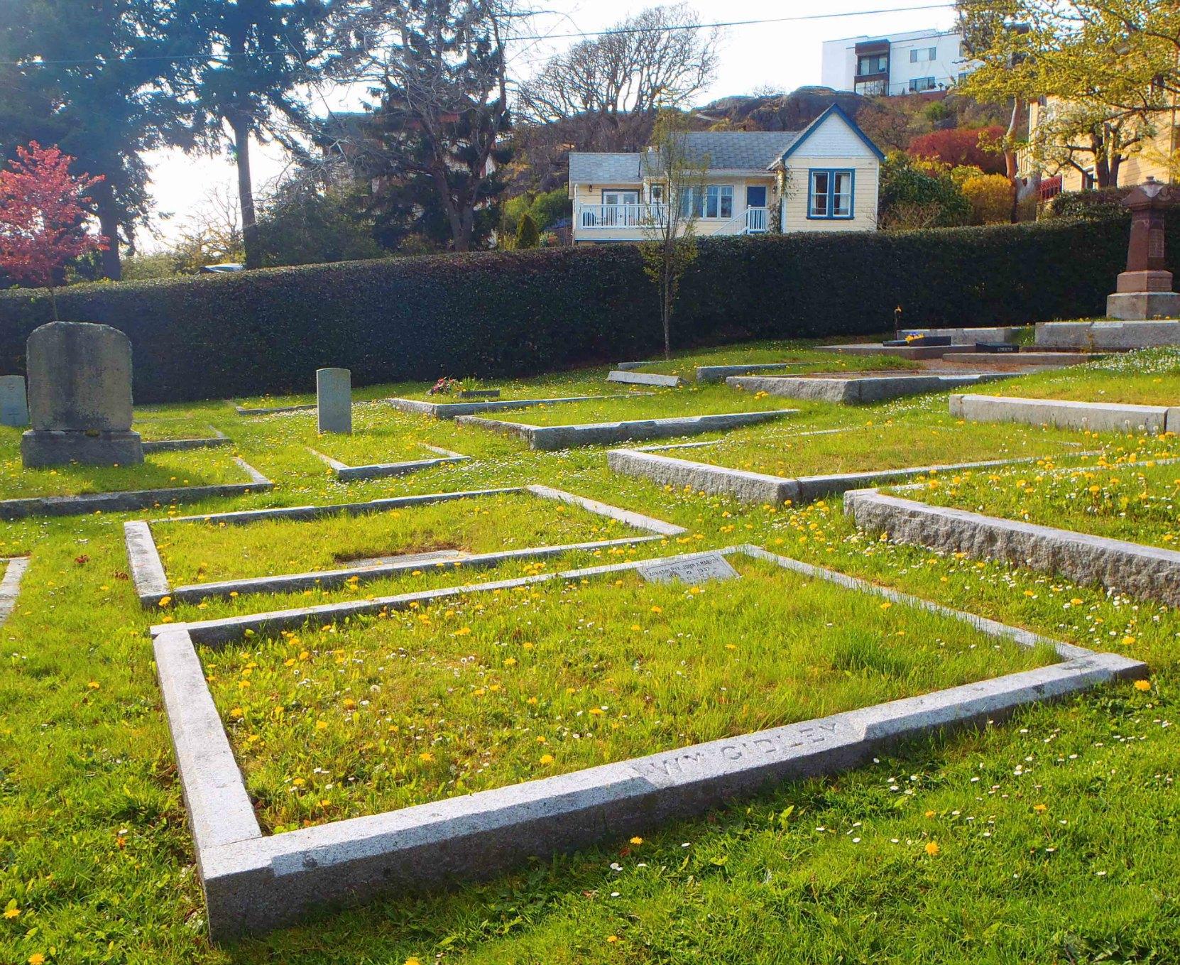 William Gidley grave, Ross Bay Cemetery, Victoria, B.C.