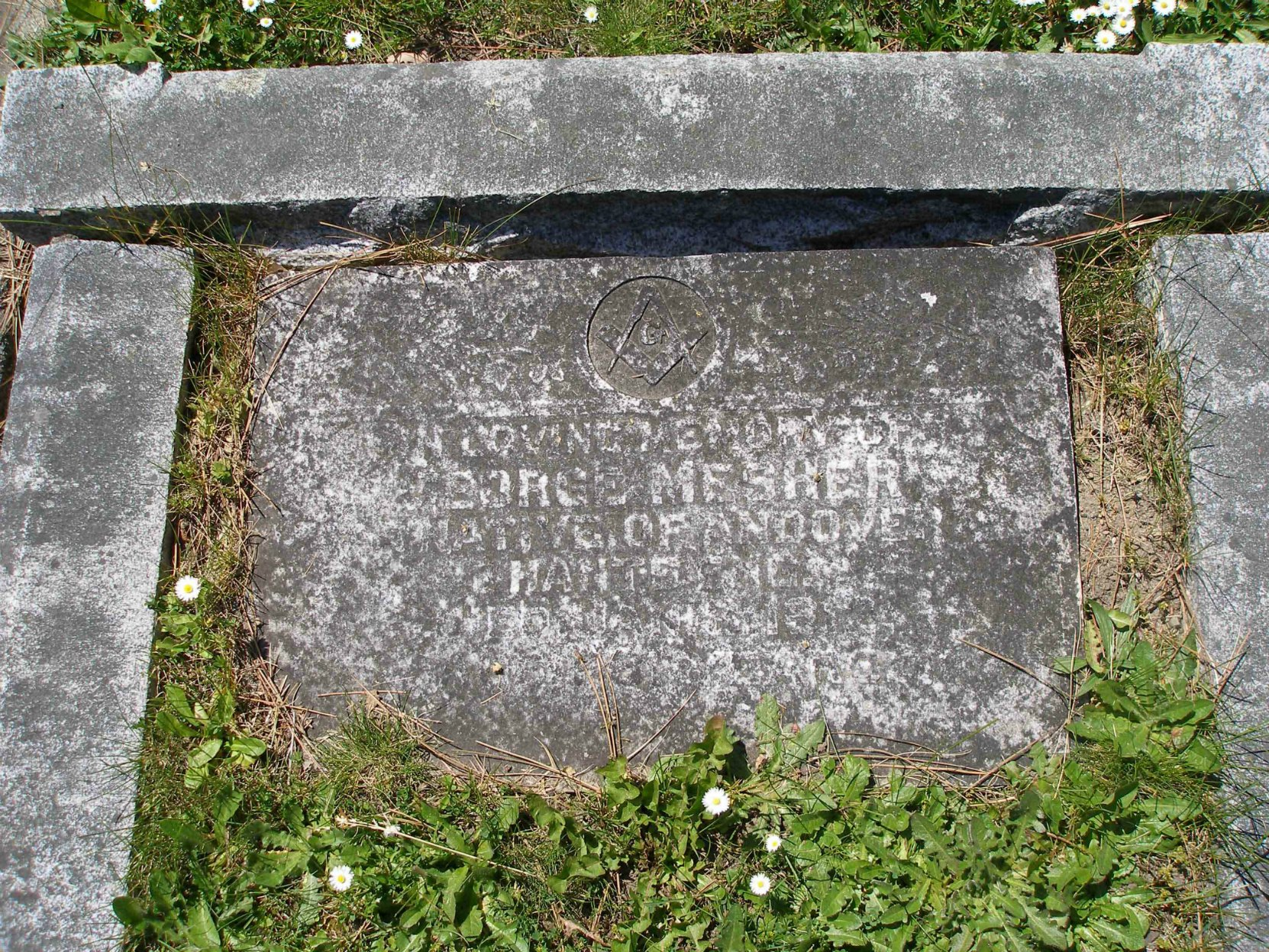 George Mesher headstone, Ross Bay Cemetery, Victoria, B.C.