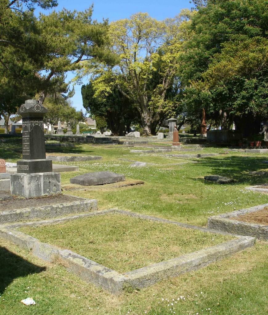 Simeon Duck grave, Ross Bay Cemetery, Victoria, B.C.
