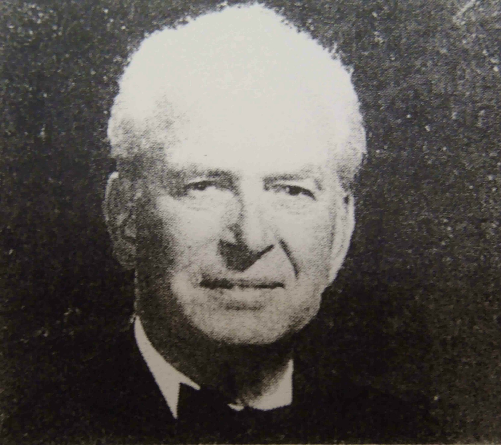 William Langlands Ogg. This photo appeared in his 2003 newspaper obituary.