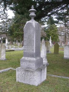 Henry Frederick Heisterman grave, Ross Bay Cemetery, Victoria, B.C.