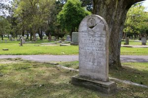 Richard Lewis grave, Ross Bay Cemetery, Victoria, B.C.