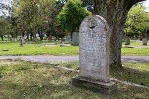 Richard Lewis grave, Ross Bay Cemetery, Victoria, B.C.