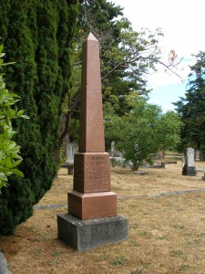 William Dalby grave, Ross Bay Cemetery, Victoria, B.C.