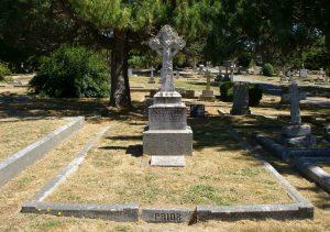 Grave of Colonel Edward Gawlor Prior, Ross Bay Cemetery, Victoria, B.C.