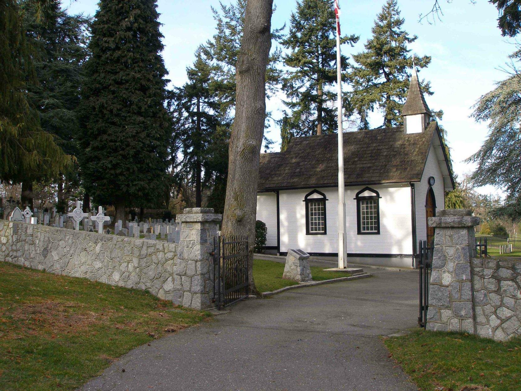 Naval & Veterans Cemetery entrance, Esquimalt, B.C.