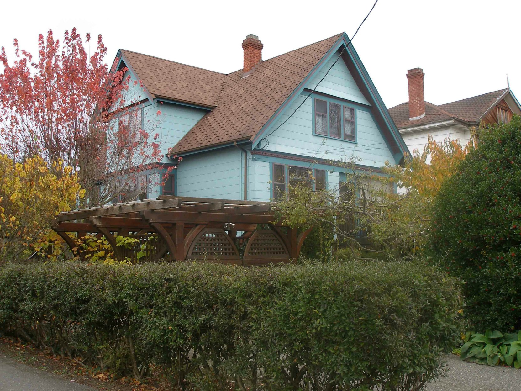 1138 Richardson, Victoria, B.C. William Gordon owned this house and was living here at the time of his death in 1924.