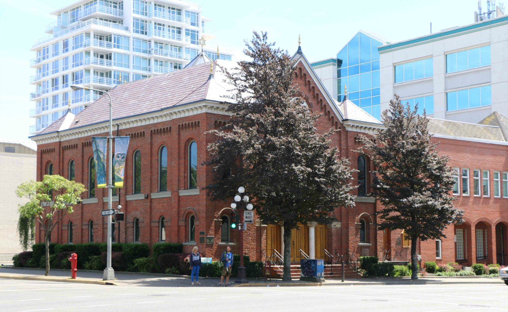 Congregation Emanu-El Synagogue, 1461 Blanshard Street, Victoria, B.C.
