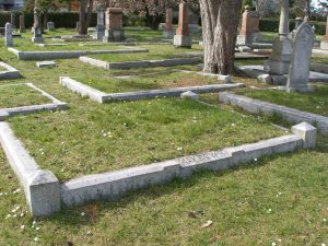 Angus McKeown grave, Ross Bay Cemetery, Victoria, B.C.