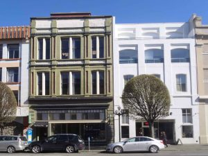1407 and 1411 Government Street, Victoria, B.C. 1407 Government Street was built in 1889 by the Brackman-Ker Milling Company, which was owned by David Russell Ker, a member of Victoria-Columbia Lodge No. 1