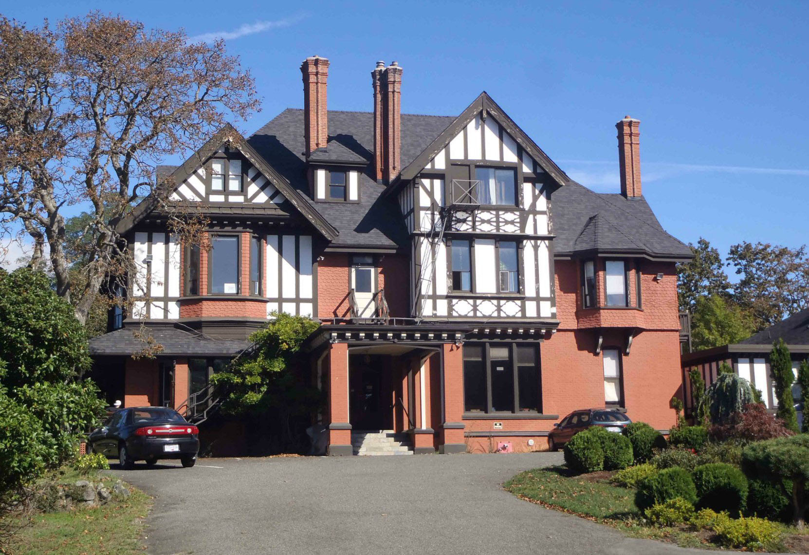 1322 Rockland Avenue, Victoria, B.C. Built for Hewitt Bostock in 1894 by architect William Ridgway Wilson