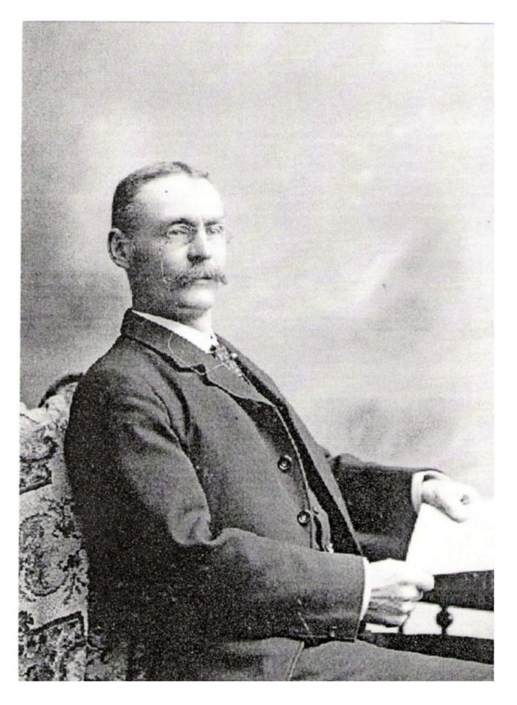 Major James Mitchell Mutter, as member of the B.C. Legislature, 1894