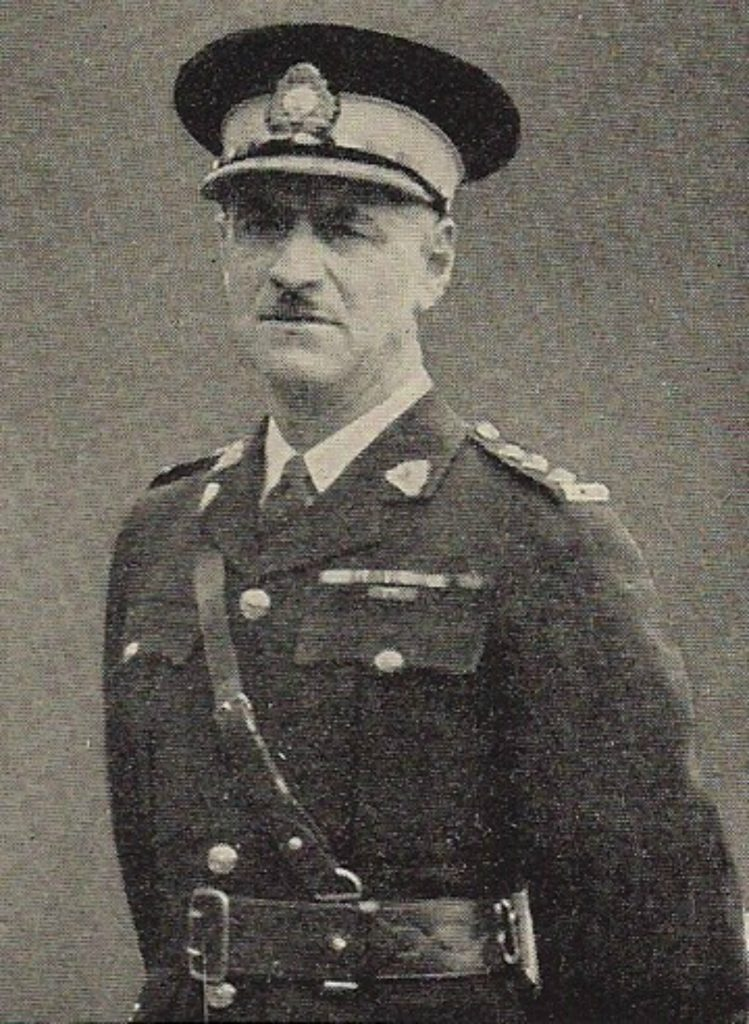Theodore Vincent Sandys-Wunsch in RCMP uniform.