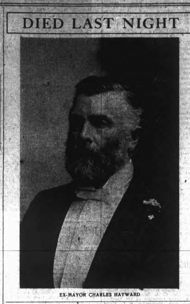 Charles Hayward (1839-1919). This photo appeared in his 1919 obituary in the Daily Colonist newspaper