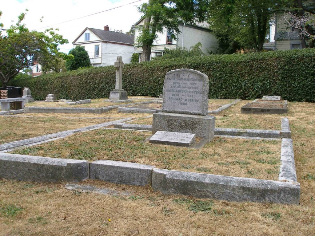 Sir Richard McBride grave, Ross Bay Cemetery, Victoria, B.C. (photo by Temple Lodge No. 33 Historian)