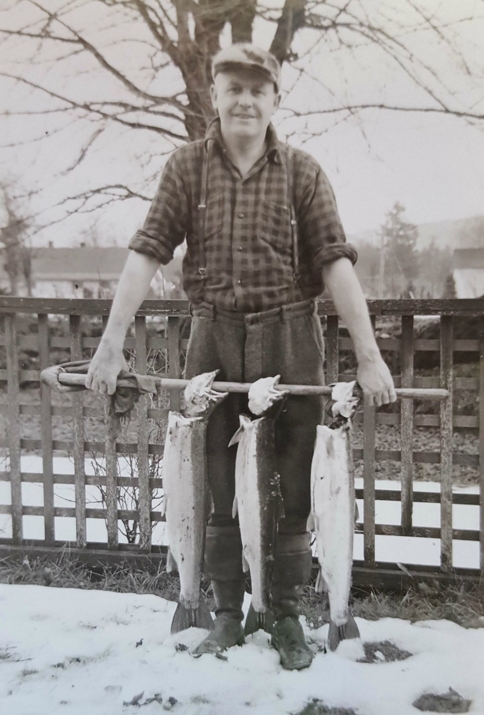 "Richard ""Bucky"" Kennett in 1954. (photo courtesy of the Kennett family & Bucky's Sport Shop - used with permission)"