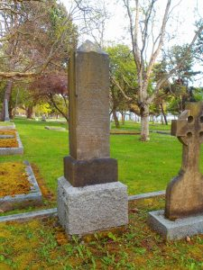 Alex James McNeill grave, Ross Bay Cemetery, Victoria, B.C. (photo by Temple Lodge No.33 Historian)