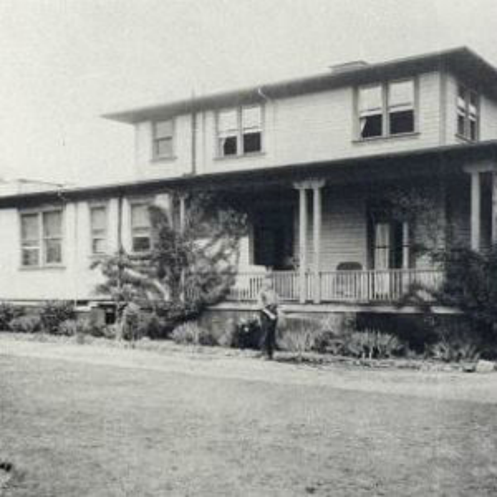 King's Daughters' Hospital, Duncan, B.C., circa 1930. This building has since been demolished and replaced by the Cairnsmore long term care facility.
