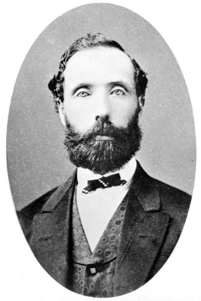 Alexander Gilmore, circa 1858. Original photo by Maynard, Victoria. (B.C. Archives photo)