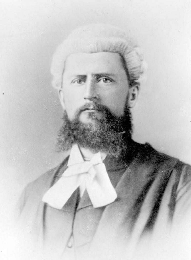 Alexander Rocke Robertson, circa 1880. (Photo: BC Provincial Archives)