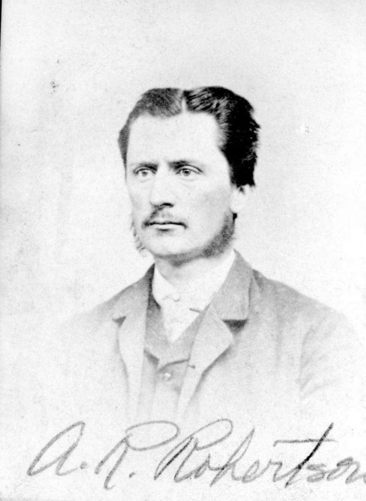 Alexander Rocke Robertson, circa 1870. (Photo: BC Provincial Archives)